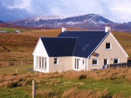 Trotternish Ridge View Cottage (our other cottage in the village)